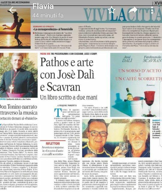 Gazzetta del mezzogiorno - 08/04/2018
