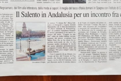 Salento in Andalusia per un incontro fra culture